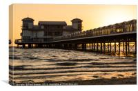 Weston Super Mare Pier, Canvas Print