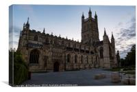 Gloucester Cathedral at Sunrise, Canvas Print