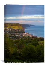 Sidmouth after the storm, Canvas Print