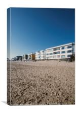 Sandbanks in early Spring, Canvas Print