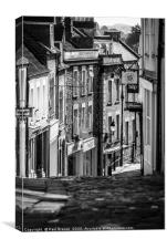 Catherines Street Frome, Canvas Print