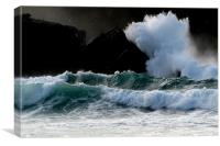 Sturmy Day in Clogher, Canvas Print