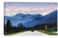 Mountain Highway, Canvas Print