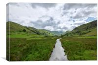into Martindale Lake District, Canvas Print