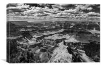 The Grand Canyon Arizona USA, Canvas Print
