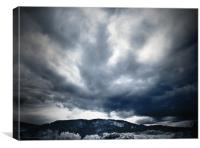 Sky above Kinnoull Hill, Canvas Print