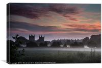 Minster in the morning, Canvas Print