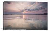 Sunday Sandbanks Sunset, Canvas Print