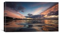 Whitecliff Reflections, Canvas Print
