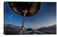 Bell over Bellagio, Canvas Print