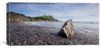 Kimmeridge Rock, Canvas Print