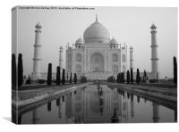 The Taj Mahal, Canvas Print