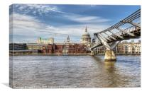 Saint Pauls Cathedral, Canvas Print
