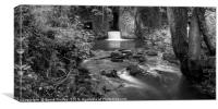 Lower Forge in Monochrome, Canvas Print