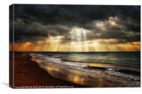 See the light, Canvas Print