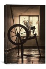 Spinning Jenny, Canvas Print
