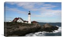 Portland Head Light, Canvas Print