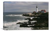 Portland Head Light, Maine, Canvas Print