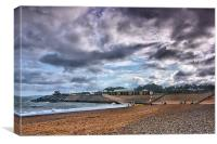Dawlish Warren Beach, Canvas Print