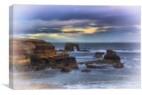 """Whitburn arch                                    , Canvas Print"