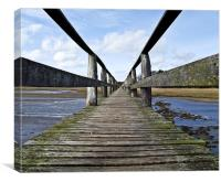 Aberlady Bridge, Canvas Print