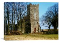 St. Clements Church Saltfleetby, Canvas Print