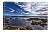 Firth of Forth from Elie Harbour, Canvas Print
