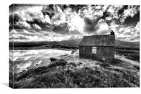 Central Scottish Highlands Moor, Canvas Print