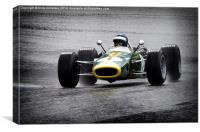 Team Lotus , Canvas Print