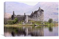 Kilchurn Castle, Loch Awe, Scotland, Canvas Print