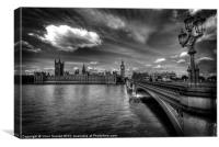 Palace Of Westminster - London, England, Canvas Print