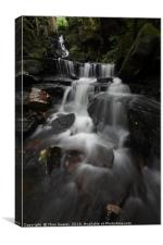 Lumsdale Falls 8.0               , Canvas Print