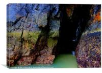 HEBRIDES RAINBOW CAVE OF WATER 2, Canvas Print