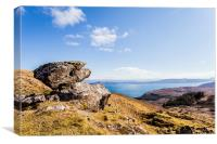 Raasay from Storr, Canvas Print