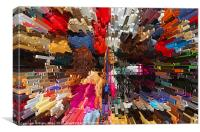 Colours of the Market, Canvas Print