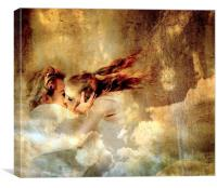 Lucy in the sky, Canvas Print