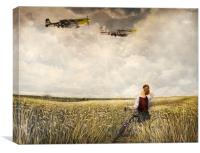 Spirit of The Mustang, Canvas Print