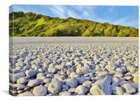 Cold Knap Beach, Barry, Canvas Print