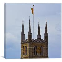 Southwark Cathedral, Canvas Print