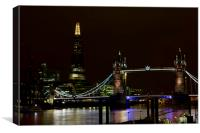 The Shard and Tower Bridge, Canvas Print