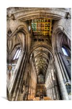 Southwark Cathedral London, Canvas Print