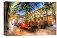 The Apple Market Covent Garden London, Canvas Print
