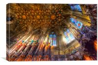 Thistle Chapel St Giles Cathedral Edinburgh, Canvas Print