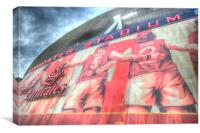 Arsenal Football Stadium , Canvas Print