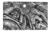 St Patrick's New York, Canvas Print