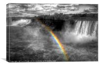 Niagara Waterfall Rainbow, Canvas Print
