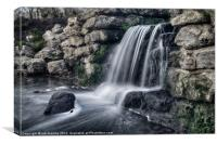 THE MOTE FALLS, Canvas Print