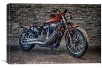 CUSTOM RIDE 2, Canvas Print