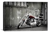 THE LOW RIDER, Canvas Print