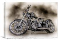 THE CUSTOM BOBBER PAINTING, Canvas Print